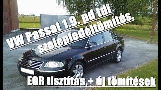 Volkswagen Passat b5.5 1.9 pdtdi EGR tisztítás
