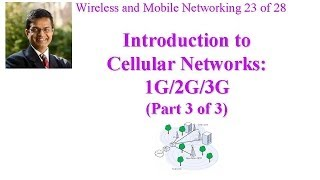 CSE 574-14-14C: Introduction to Cellular Networks: 1G/2G/3G (Part 3 of 3)