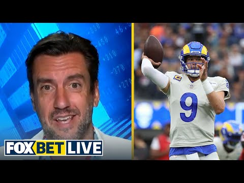 Clay Travis explains why he thinks the Rams will win the NFC I NFL   FOX BET LIVE