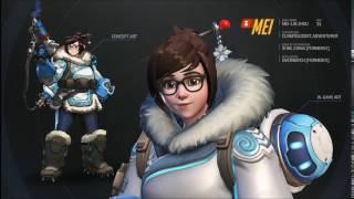 Overwatch Mei Voice Line A Mei Zing