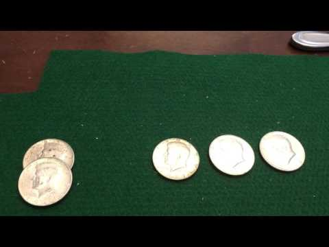 151 YEAR OLD COIN FOUND in half dollar mega hunt! Unique Birthday hunt! Silver! Proofs! Old Foreign!