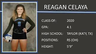 Reagan Celaya   Taylor High School   2018 Volleyball Season