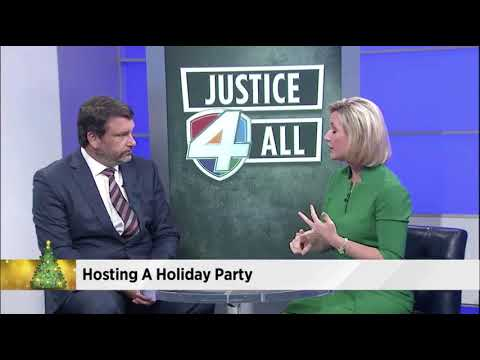 Justice 4 All - Holiday Party Legal Analysis on WJXT