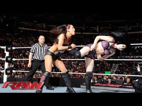 Paige vs. Brie Bella  Divas Championship Match: Raw, April 28, 2014