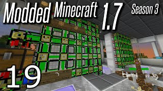 Modded Minecraft 1.7 - S3E19 - Logistics Pipes Auto Crafting