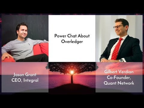 Overledger Conversation With Quant CEO Gilbert Verdian