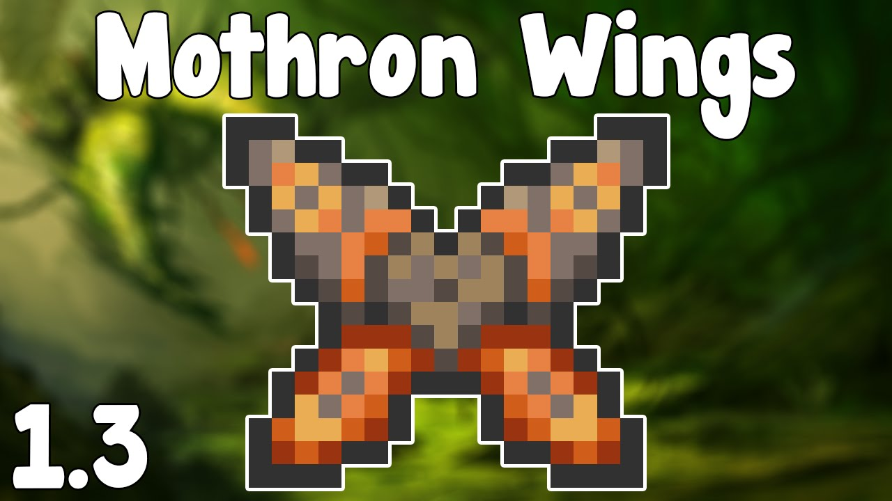 Terraria 1 3 Mothron Wings Ginormous Wings Terraria 1 3 New Wings Youtube Some of these are end game items that. terraria 1 3 mothron wings ginormous wings terraria 1 3 new wings