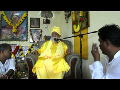 Swamiji in ecstasy in Lakshmy Mantralaya Kota Bharu