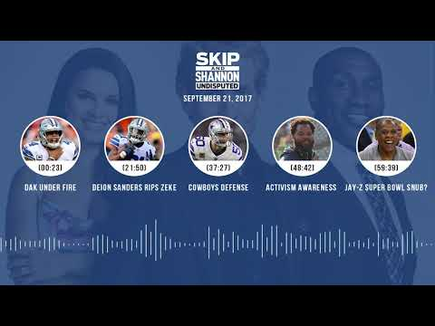 UNDISPUTED Audio Podcast (9.21.17) with Skip Bayless, Shannon Sharpe, Joy Taylor | UNDISPUTED