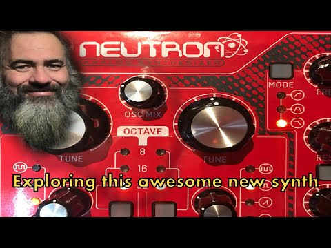 Exploring the new Behringer Neutron analogue synth