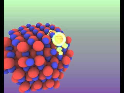 CdSe Quantum Dot Scientific Visualization