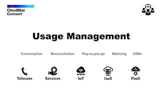 CloudBlue Connect Usage Management Overview