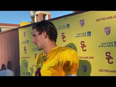 USC QB Kedon Slovis — Oregon State week