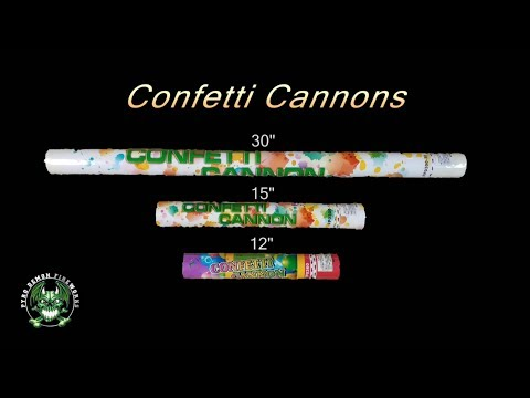 "Confetti Cannon 15"" - Pyro Demon"
