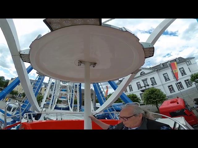 Riesenrad in Sinzig 360° Film mit Drehfunktion