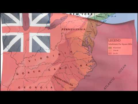 British American colonies colonial flag & anthem