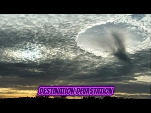 Is the truth out there? Rare hole punch cloud appears over Illinois