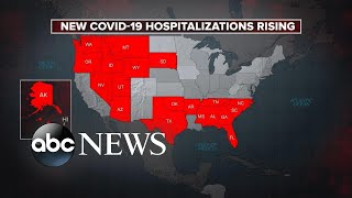 US sees 3rd highest day in new COVID-19 cases l ABC News