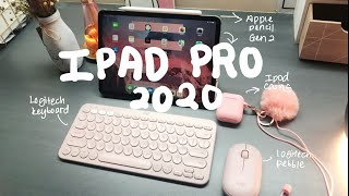 2020 NEW iPad Pro Gen 4 UNBOXING + Accessories!