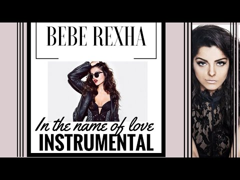 Bebe Rexha - In The Name Of Love Karaoke Version (Max Pandemix Production)