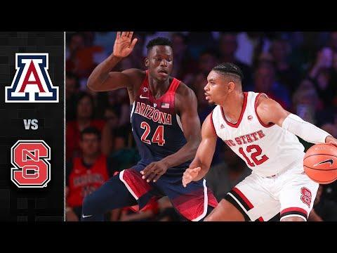 Arizona vs. NC State Basketball Highlights (2017)