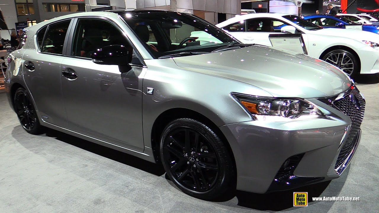 2016 lexus ct200h f sport exterior and interior walkaround 2016 new york auto show youtube. Black Bedroom Furniture Sets. Home Design Ideas