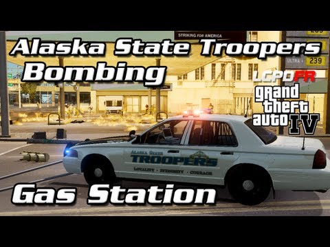 AST Clan GTA IV - Gas Station Bombing with SERT Negotiations, Funeral Processions, and MORE