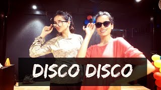 Disco Disco: A Gentleman | Tejas Dhoke Dance Choreography | Dancefit Live