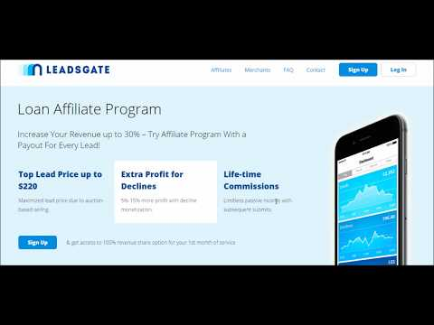 Payday Loans Affiliate Program
