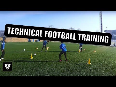Technical Football training | Soccer Drill | U11 U12 U13 U14 | Club Brugge Academy