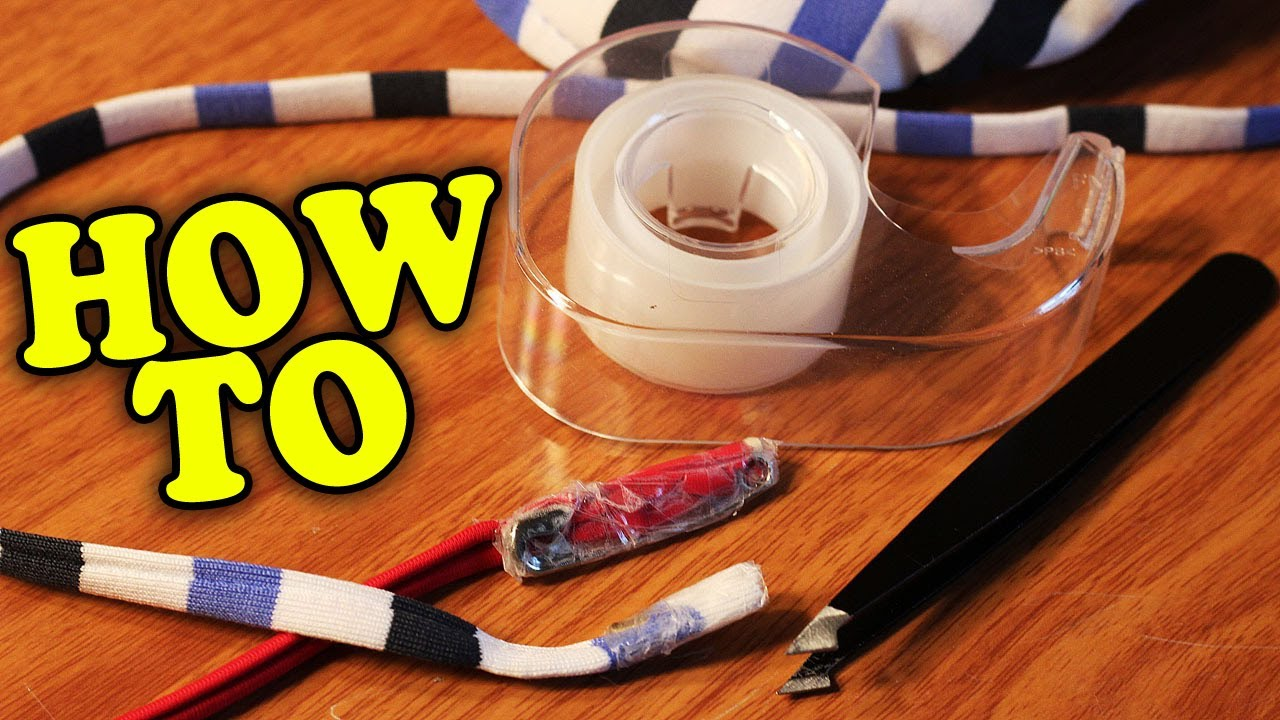 HOW TO: Restring Drawstring in Clothes - YouTube