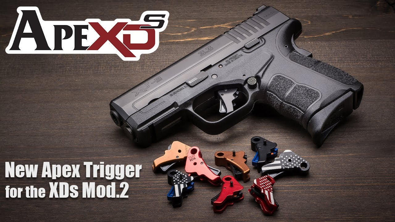 Apex's New Trigger for Springfield Armory's XDs Mod.2
