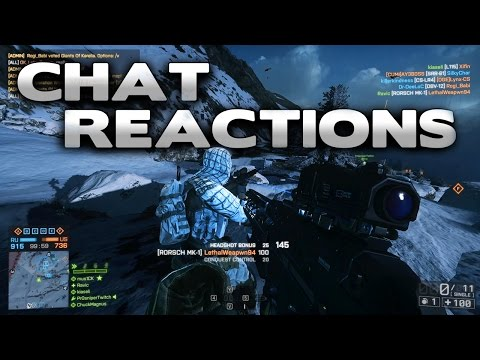 Battlefield 4 In-Game Chat Reactions 18 |