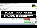 My Secret, Yet Simple Way To Backtest Any Trading Strategy Easily