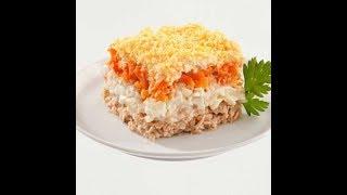 Вы такого еще не пробовали!!!НЕСТАНДАРТНЫЙ салат МИМОЗА