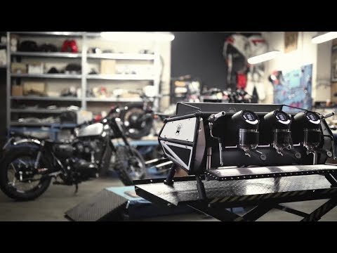 How Marco Lugato Customised His Sanremo Cafe Racer Coffee Machine
