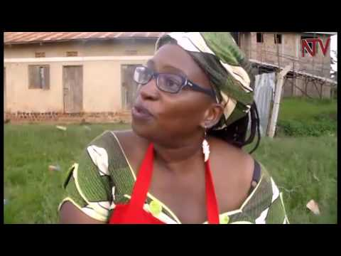 Stella Nyanzi donates sanitary towels to students in mukono district