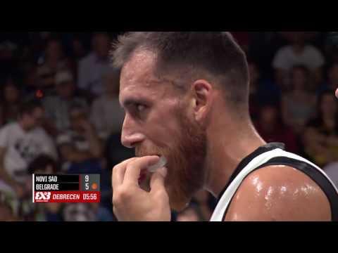 Novi Sad Al Wahda - Beograd (21 : 11) - Men's 1/2 Final FIBA 3x3 World Tour Debrecen