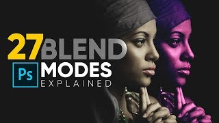 The Science of All 27 Blend Modes in Photoshop!