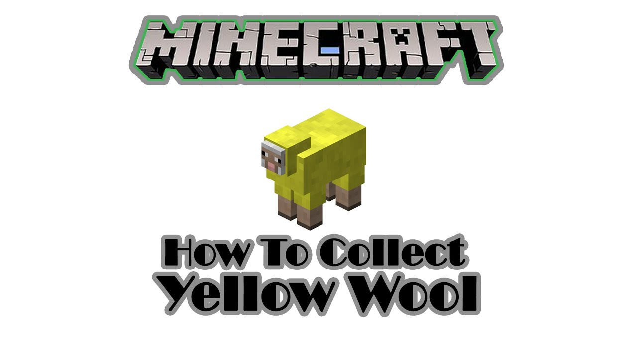 How To Color Yellow A Sheep/ Collect Yellow Wool [ভেড়ার