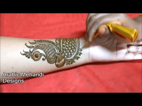 arabic bridal mehandi designs for full hands | new easy wedding Arabic Mehndi Designs front and back