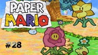 Trueques en Campos Floridos/Paper Mario capítulo 28