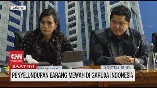 Konpers Sri Mulyani & Erick Thohir Soal Penyelundupan Harley-Davidson di Garuda Indonesia