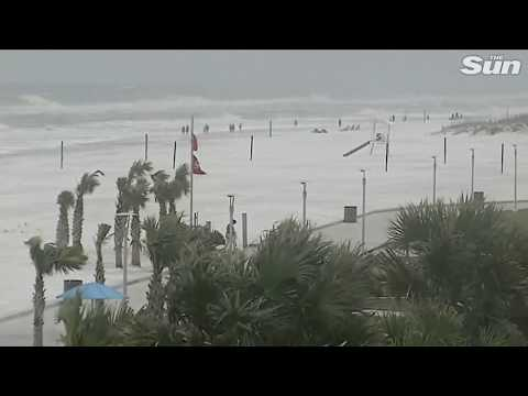 Hurricane Michael barrels toward the Gulf Coast of the USA