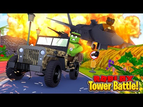 VEHICLE ONLY TOWER BATTLE CHALLENGE VS BRUNO!