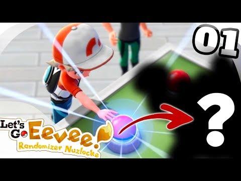 ROUGH START! - Pokémon: Let's Go, Eevee! RANDOMIZER NUZLOCKE Part 1!