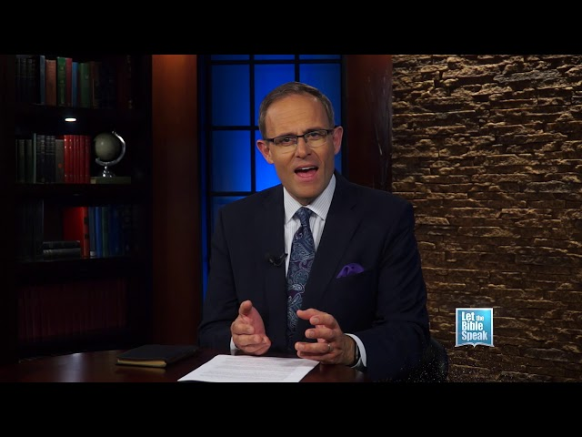 LET THE BIBLE SPEAK - The Inspiration Of The Bible