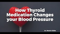 How Thyroid Medication Changes your Blood Pressure