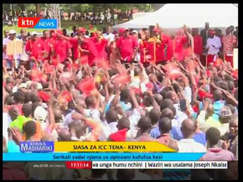 Siasa za ICC tena- Kenya: Serikali yadai njama ya upinzani kufufua kesi