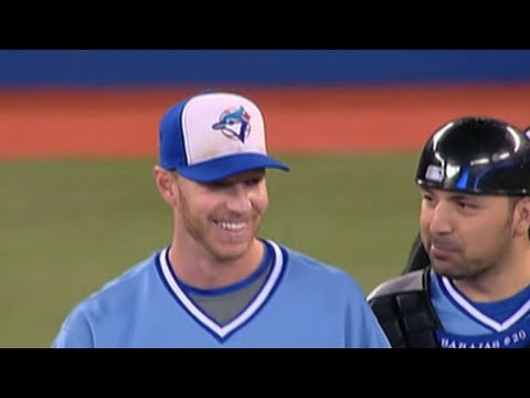 Halladay hurls shutout in his final Blue Jays home game